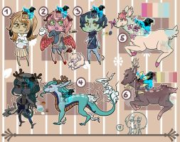 Random Adopts [Open/ 2 left] by Maro-King