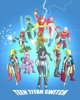 The Mighty Teen Titans Switch by jdcunard