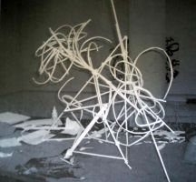 paper sculpture view 2 by palindromenoise