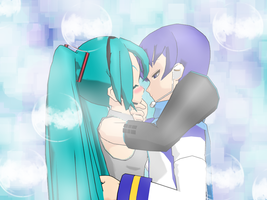 MikuXKaito by CutiepieSpecter