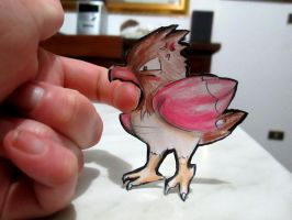 Paperchild 59. Pokemon#21 - Spearow by FuriarossaAndMimma