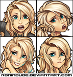 Emotion Practice 1-29-2016 by RoninDude
