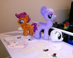 WIP pony projects!!! by moggymawee
