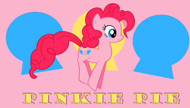 Pinkie bounce background by demondave999