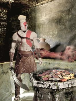 Cooker Kratos by orcbruto