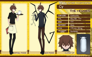 CR Character Sheet : Cy by CRYPTERS