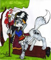Grand C. Lupe Taur - Colored by dragonheart07