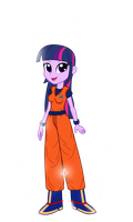 Twilight Sparkle EG Saiyajin Beyond God by gonzalossj3