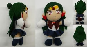Sailor Pluto Plushie by sakkysa