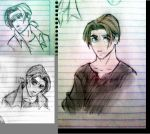 Collage Jim Sketches by MAKATAKO