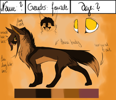 Refsheet: - (Help me to find a name) by Livaly