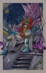 king starscream commission by markerguru