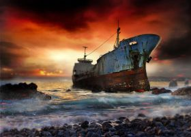 Dead ships by a1exandro