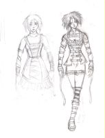 Madness in Alice / Alice Sketch by Madness-of-Hamlet