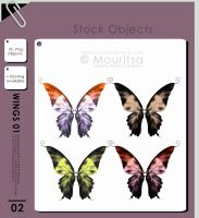 Object Pack - Wings 01 by MouritsaDA-Stock