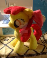 Apple Bloom Plushie :Commish: by AppleDew
