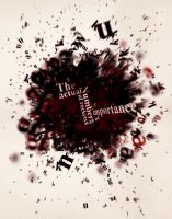 typography explosion2 by ShaunyeWest