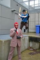 TF2Cos: I'm gonna bat ya head in by Rydia-Mist