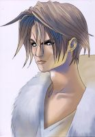 Squall Leonhart from FFVIII by MT-Artwork