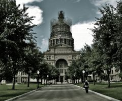The Texas Capitol by VTAL