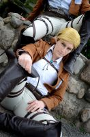 Erwin Smith Cosplay by Xx-lil-xX