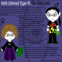 Goth Type 18: The Geek Goth by Trellia