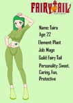 Fairy Tail OC: Taira by TheYaoiLover24