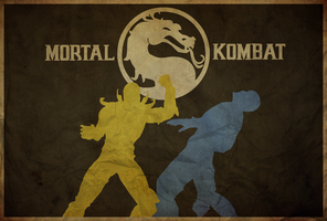 Mortal Kombat - Poster by edwardjmoran