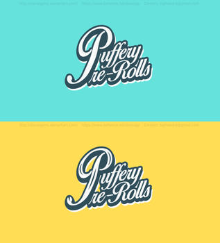 Puffery Logo Concept by DianaGyms