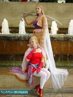 FF6-Terra And Celes -cosplay- by Icequeenkitty