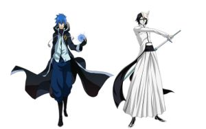 Jellal and Ulquiorra by ng9