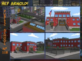 Hey Arnold School Mosaic by hookuy