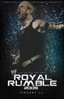 WWE Royal Rumble 2009 Poster by SaintMichael