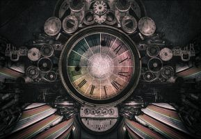 MACHINE + COLOUR + TIME by Lxmarcel