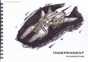 Independent Interceptor by fongsaunder
