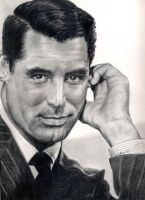 Cary Grant by johndibiase
