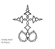 Celtic Knot Nobody Symbol (Kingdom Hearts) by AokitianWolf