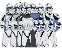 The 501st legion by vaderboy