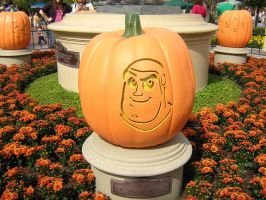 Tomorrowland Jack o' Lantern by disneyland-stock
