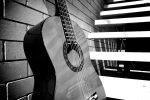 Guitar on stairs by mik3tan