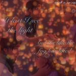 I see the light by Xinxian2000