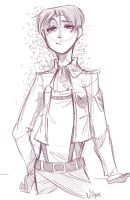 Corporal Levi by gigglepox