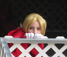 Peek a boo level: Elric by ZexionConvertedSaix