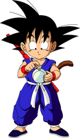Dragon Ball - kid Goku 5 by superjmanplay2