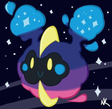 Cosmog/Nebby by Eternalsonicstar