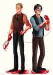 hannibal and will by Sydsir