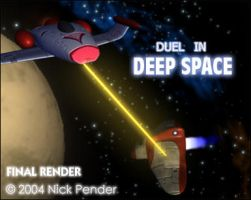Duel in Deep Space by nickowolf