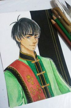 Phichit Chulanont by MaidMei