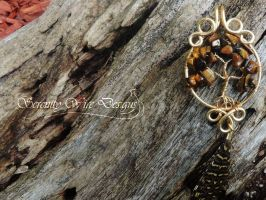 Tiger's Eye by SerenityWireDesigns