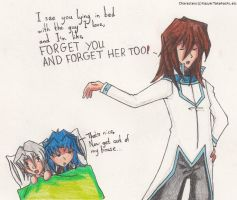 Fubuki is totally over Ryo by SamCyberCat